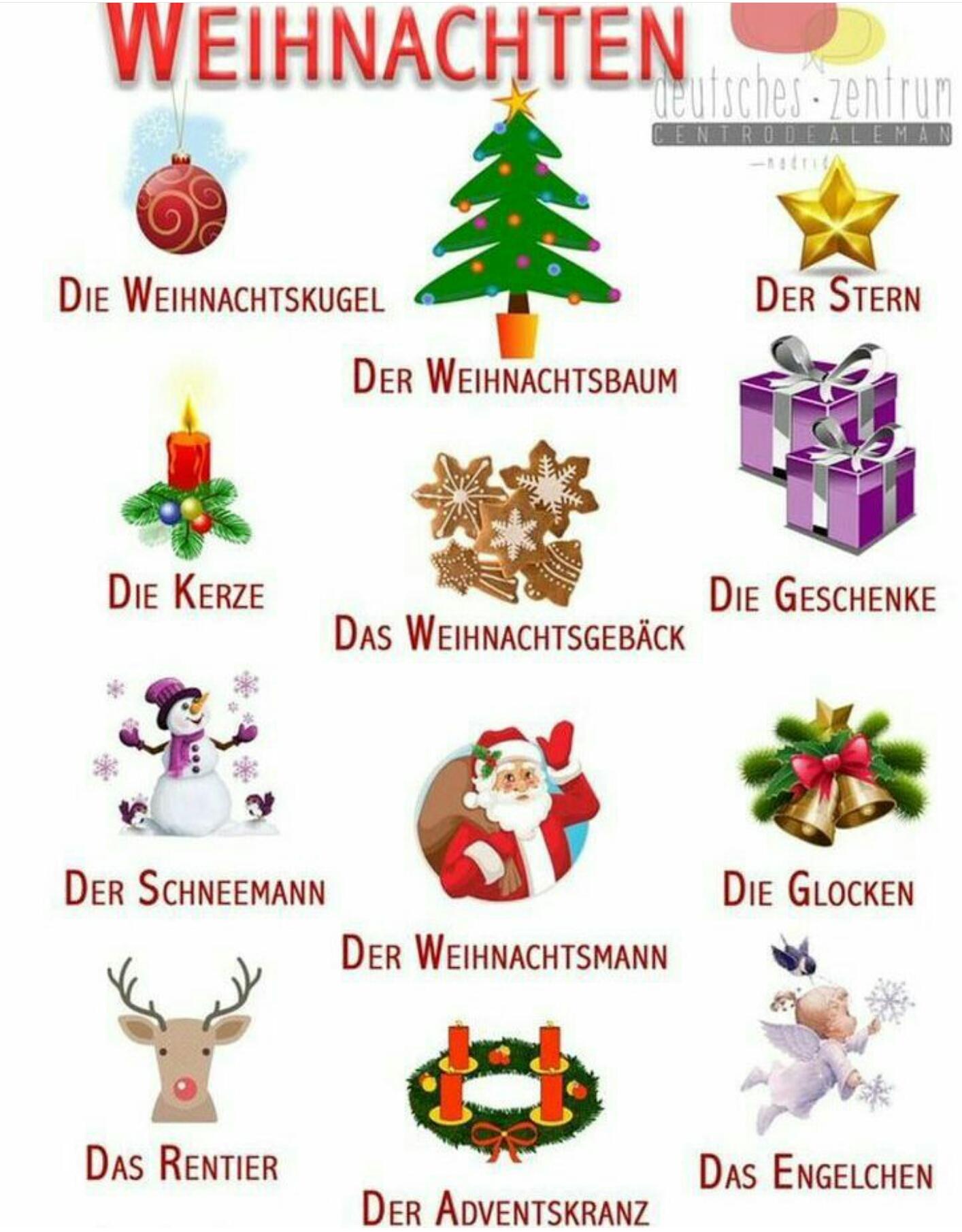 Weihnachtsgebäck Clipart.Weinachten English For Life