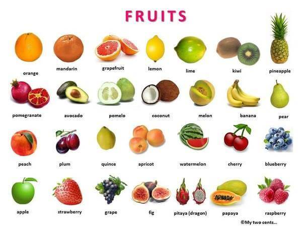 Fruits in English   English For Life